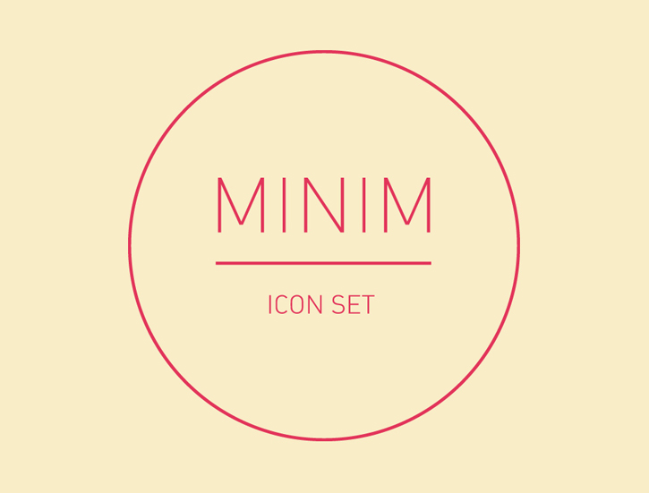 MINIM Icon Set